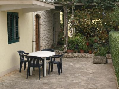 Photo for Two bedroom apartment with terrace Supetar, Brač (A-2850-b)