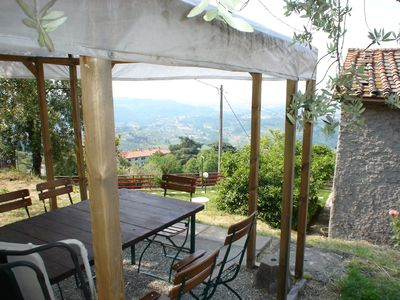 Photo for Beautiful secluded location in an olive grove with a superb view