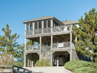 Photo for The Big Chill-Corolla: Ocean Sands, oceanside, 4 bedroom with private hot tub.