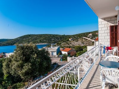 Photo for Apartment AnteV  A2(7)  - Cove Kanica (Rogoznica), Riviera Sibenik, Croatia