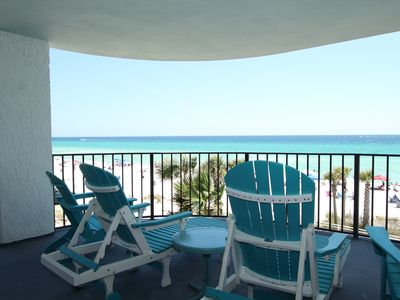 Photo for Spacious Beachfront Condo with Huge Patio!
