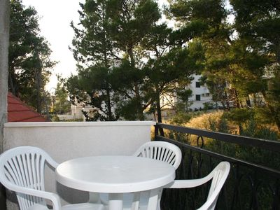 Photo for One bedroom apartment with balcony Bol, Brač (A-2884-a)