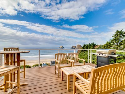 Photo for Charming, historical, dog-friendly home with gorgeous ocean views