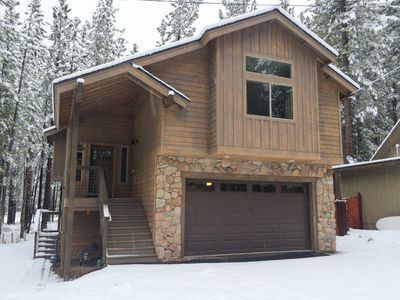 Photo for Breathtaking Mountain Home w/ 2 Living Areas & Fire Pit - Minutes to the Lake