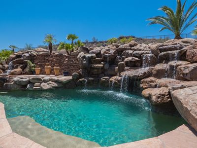 Photo for Pinnacle Hill = Resort-style Backyard Paradise Is Truly Extraordinary!