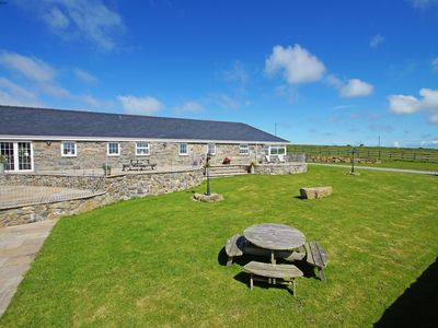 Photo for Superior, luxury barn conversion for a large group stay in an idyllic location with extensive, peace