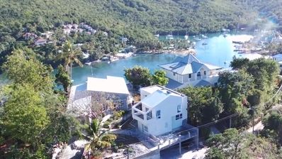 Photo for Beautiful 2 bedroom modern house with the best view in St Lucia