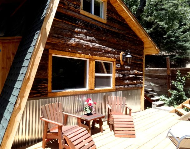Vintage modern cabin fever fun on the mountain palomar for San diego county cabin rentals