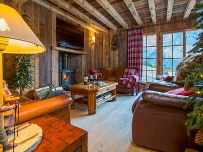Photo for Chalet Heidi - Luxury Samoens Chalet in Secluded Location with Fantastic Views