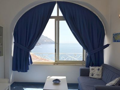 Photo for 2 bedroom Villa, sleeps 5 in Positano with Air Con and WiFi