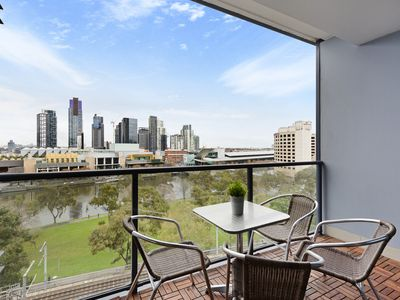 Photo for Long Stay Rates, Pets, Waterfront Views of Southbank and Yarra River, 10th Floor