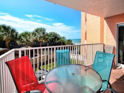 Photo for Beach Cottage Condo  1206 Beachfront 2 Bedroom 2 Bathroom in Indian Shores