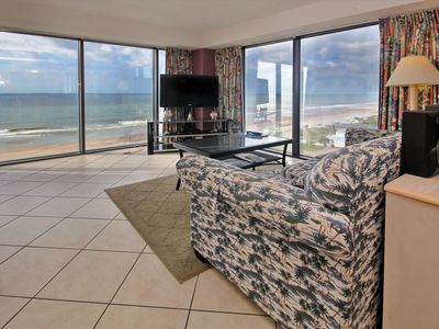 Photo for Stunning 360 Coastal Views w/total Glass Wall Living Room