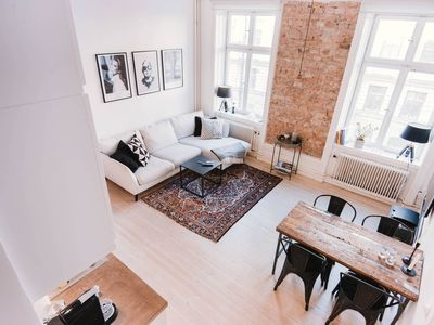 Photo for Exclusive architectural apartment in Norrmalm