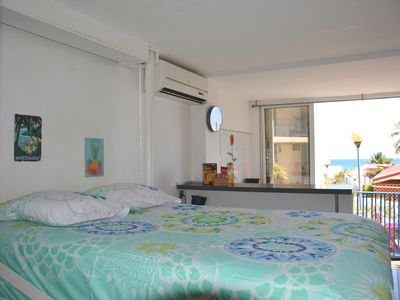 Photo for Nice air-conditioned studio 30 meters from the beach of Diamant