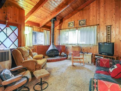Photo for Dog-friendly mountain home w/ hot tub, great views & more!