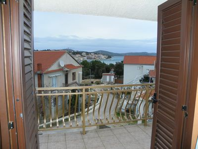 Photo for Apartments Matija / One bedroom apt with balcony and seaview A1