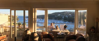 Photo for Manly home with Panoramic Harbour views