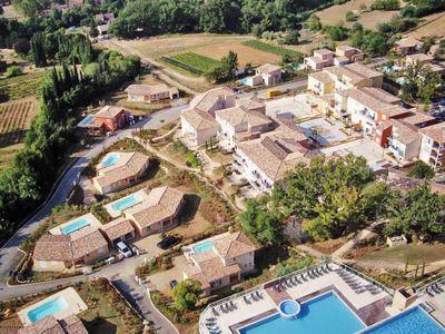 Photo for 3 bedroom Apartment, sleeps 8 in Callian with Pool, Air Con and WiFi