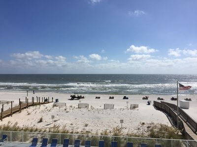 Photo for Gorgeous Views From Beach Front Condo