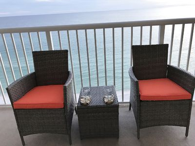 Photo for $500 OFF - FREE LUXURY BEACH CHAIRS SVC included-3BR/2BA ocean front
