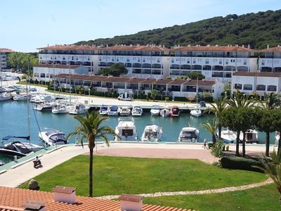 Photo for SEA VIEWS, PORT, WIFI. 2 steps from the beach