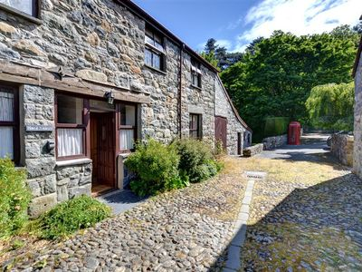 Photo for Near Conwy in a country house's extensive grounds is Maes Masarn a spacious cottage with lovely view