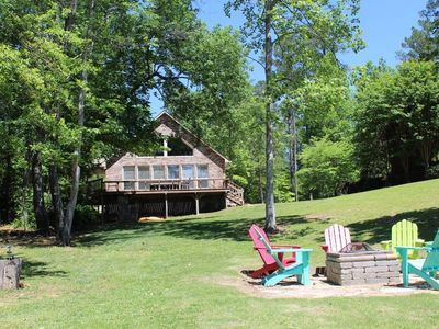 "Photo for ""Lake Life"" A Beautiful Lake House On Smith Lake in Double Springs, 5BR, 2BA"