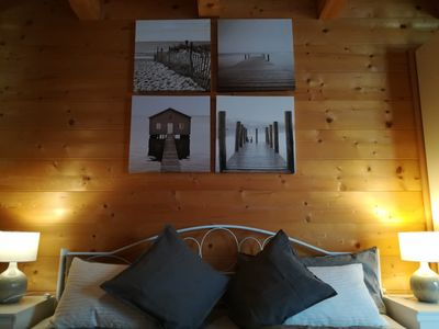 Photo for Studio in the log cabin at the Chiemsee