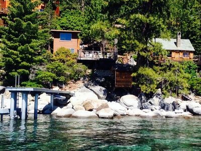 Photo for Lake Front Homes with Pier - West Shore Tahoe, Rubicon/Meeks Bay