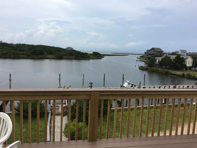 Photo for 2 Bedroom Condo-  Waterfront!  Best Sunsets! Kayaks Included, Pool and Tennis