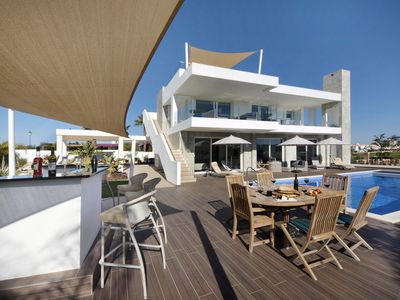 Photo for Luxury Villa DAVAAR, 4 bedroom, private pool ,walking distance to the beach,