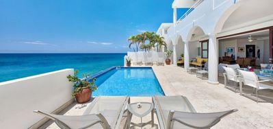Villa Etoile De Mer  -  Ocean View - Located in  Fabulous Cupecoy with Private Pool
