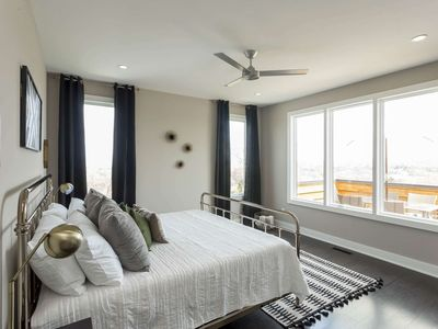 Photo for Extended-Stay Executive Housing (31-Day Minimum), Stunning 180-Degree City Views, West Meade Area