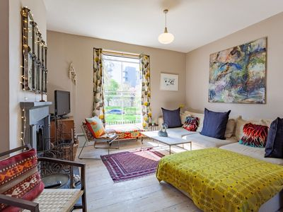 Photo for Chic & unusual 3BR home in trendy Dalston, moments to Haggerston station (Veeve)