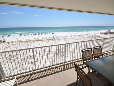 Photo for 3011 Islander Beach Resort:~Gulfside ~ Free Beach Service ~ Great Specials-