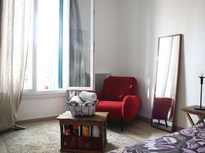 Photo for T2 Chic and vintage in the heart of Lunel (15 mn from the sea)