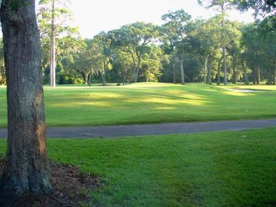 View from Patio- 12th green of Fazio course