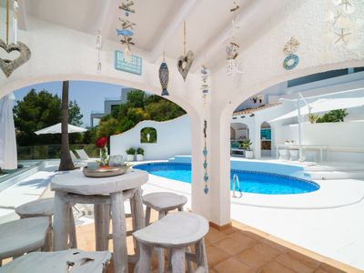 Photo for Vacation home Benimeit in Moraira - 4 persons, 2 bedrooms