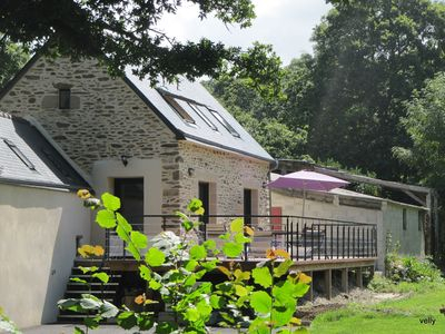 Photo for Charming cottage in the context of an old mill in the countryside