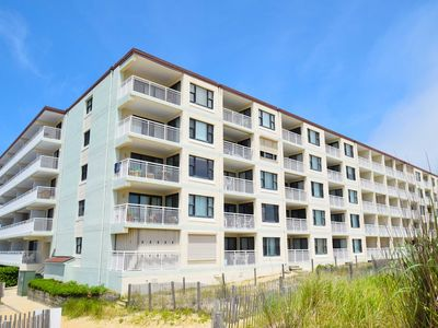 Photo for Diamond Beach 414-Oceanfront 38th St, Free WiFi, Elev, W/D, AC
