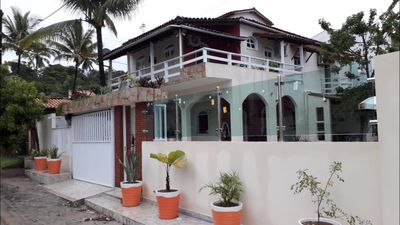 Photo for 6 bedroom house with air and pool in Cond. Waters of Olivenza