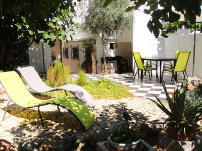 Photo for Garden Apartment In Elegant, Spacious Old Tavira Townhouse, perfect location