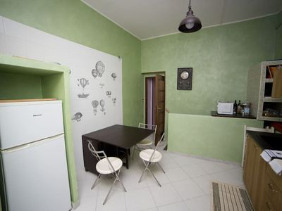 Photo for The Aria living room is located in the heart of the historic center of Naples