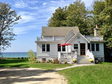 Charming Beach House with Guest Cottage - 2.3 Acres on Lake MI