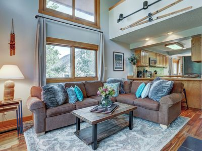 Photo for Sophie's Chalet: 3 BR / 2.5 BA townhome in Breckenridge, Sleeps 10