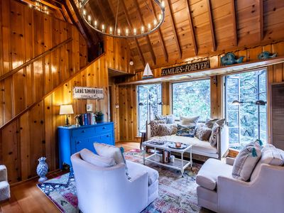 Photo for Lakes Edge Cabin - Walk to the lake and Arrowhead Village!
