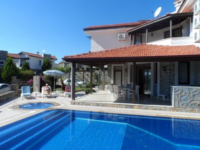 Photo for Beautiful Villa With Extra Large Private Pool and Wi-Fi.