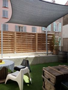 Photo for T2 large terrace in the heart of the Mourillon district in Toulon