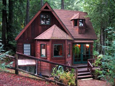 Photo for DREAMCATCHER: Redwood Views | Hot Tub | Woodstove